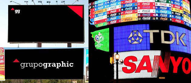 Tipos de vallas publicitarias grupo graphic publicidad - Tipos de vallas ...