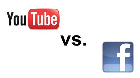 Las redes sociales: Facebook VS Youtube