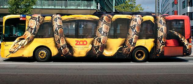 ¿Por qué anunciarse en un autobús?