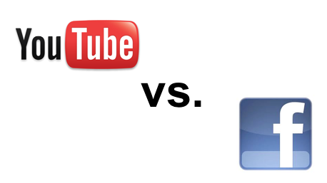 Las redes sociales: Facebook VS Youtube